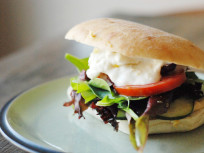 A Greek Veggie Sandwich for the Ages