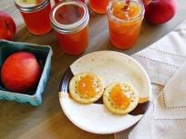 Hot Peach Jam Packs Quite A Punch