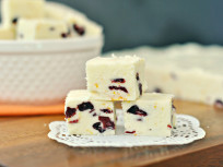 Cranberry Orange Fudge