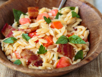 Bacon Tomato Pasta Salad