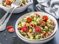 Quinoa Avocado Salad with Fresh Tomatoes and Sweet Corn