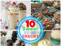 Smart and Sweet: 10 After School Snacks