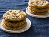Pumpkin Spice Toffee Cookies