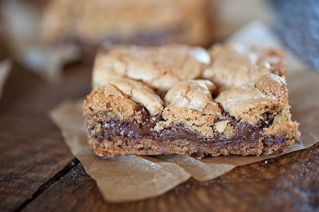 Nutella Cookie Bars