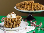 Gingerbread Waffles Photo