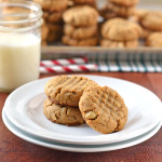 Healthy Peanut Butter Cookies Photo