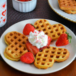 Strawberry Waffles Image