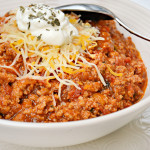 Low Carb Chili Photo