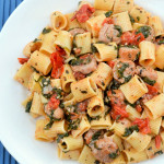 Rigatoni with Sausage Photo
