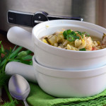 Lemon Chicken Orzo Soup Photo