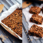 Healthy Homemade Granola Bars Photo