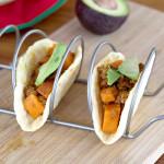 Sweet Potato Chorizo Breakfast Tacos Image