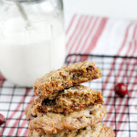 Cinnamon Chip Cranberry Oatmeal Cookies Image