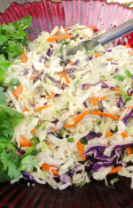 Sweet and Sour Coleslaw Photo