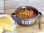 Slow Cooker Ham Soup Image