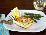Grilled Halibut Steaks Photo