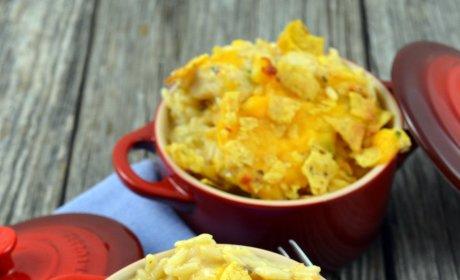 Chicken Fajita Casserole Recipe