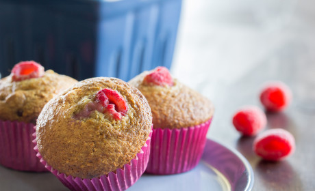 Raspberry Bran Muffins: Better Than Grandma's