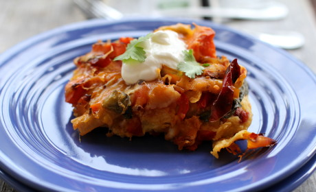 Roasted Vegetable Enchiladas: Healthy Comfort Food