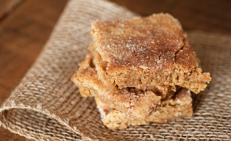 Snickerdoodle Bars: (Brown) Sugary Sweet