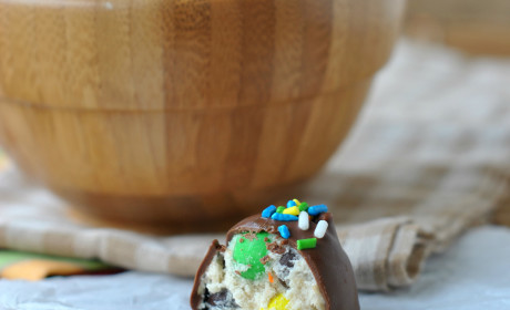 Monster Cookie Dough Truffles: As Decadadent As You Imagine