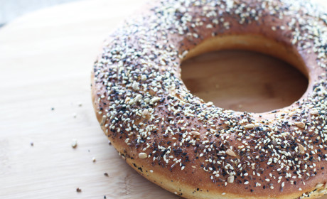 Seeded Loaf: Studded with Poppy Seed, Flax, Anise and More