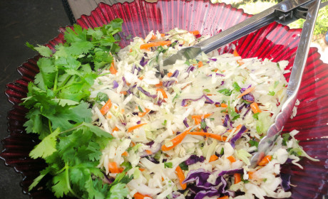 Citrus Sweet and Sour Slaw: Gluten Free Side with A Punch