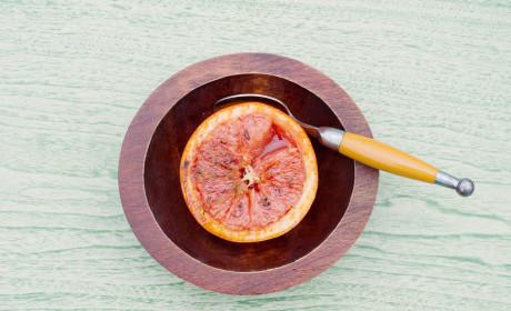 Broiled Grapefruit: Making Breakfast Posh