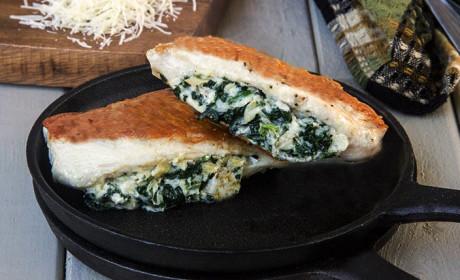 Spinach Artichoke Stuffed Chicken: Cheesy Delicious Dinner