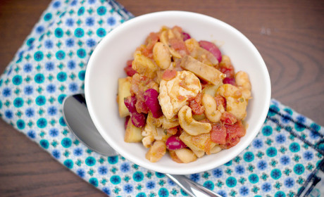 Cashew Chicken Chili