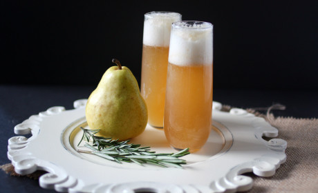 Pear Vodka: Magical with Rosemary