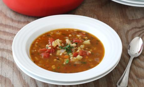 Vegetable Barley Soup & KitchenIQ Giveaway!