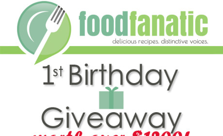 Food Fanatic's 1st Birthday Giveaway!