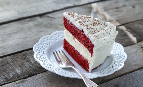 Cheesecake Factory Red Velvet Cheesecake Made at Home