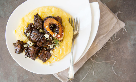Braised Beef Shanks & Le Creuset Giveaway