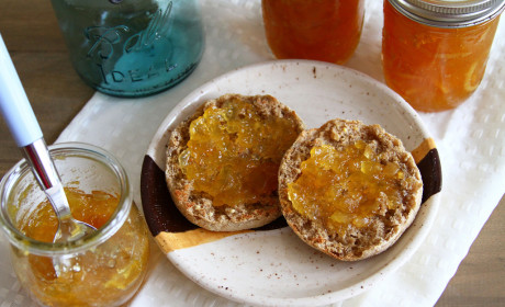 Apple Ginger Orange Marmalade to Make the Morning Bright