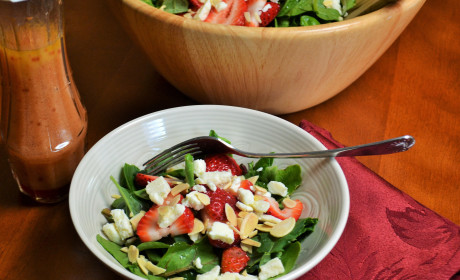 Strawberry Spinach Salad: Fresh for Spring