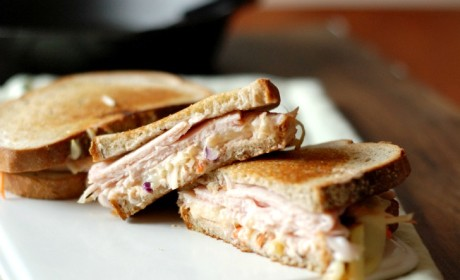 The Rachel Sandwich: Rueben's Sweeter Cousin