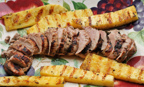 Grilled Pork Loin and Pineapple: Summer Perfection