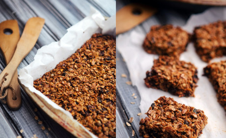 Healthy Homemade Granola Bars: Lunchbox Love