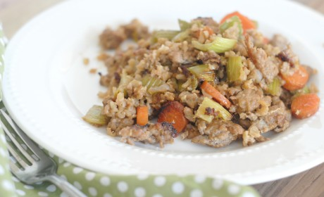Gluten Free Fried Rice: Skip the Takeout!