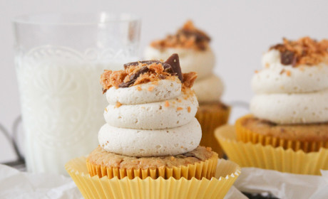 Butterfinger Cupcakes Recipe