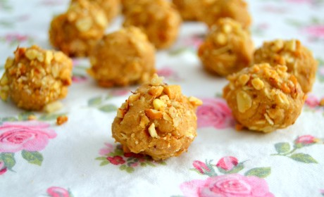 Peanut Butter Cookie Dough Balls Recipe