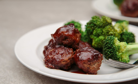 Easy Sweet and Sour Meatballs