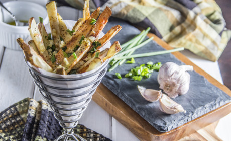 Herb & Garlic Oven Fries