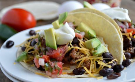 Sausage Breakfast Tacos Recipe