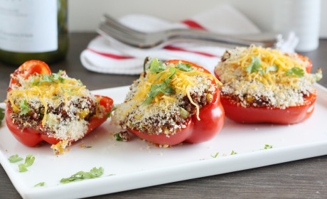 Quinoa Stuffed Bell Peppers Recipe