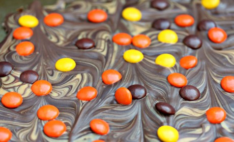 Reese's Pieces Chocolate Bark Recipe