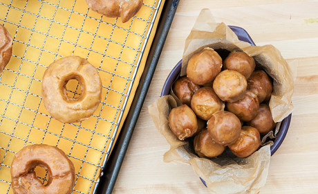 Old Fashioned Pumpkin Spice Doughnuts Recipe