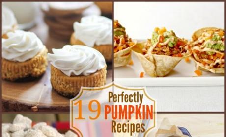 19 Perfectly Pumpkin Recipes